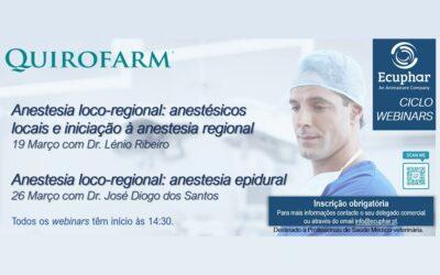 Ecuphar promove formação contínua de excelência em Anestesia Loco-regional