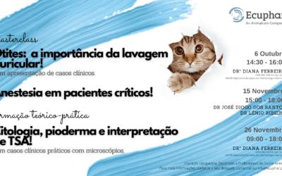 Ecuphar, an Animalcare Company, promove formação contínua de excelência em Otologia, Dermatologia e Anestesia